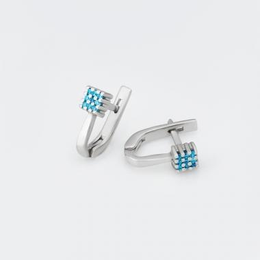 Серебряные серьги (4765)