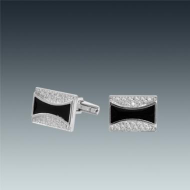 Срібні запонки (7503)