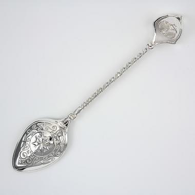 Срібна ложка з дзвіночком 9806