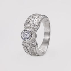Серебряное кольцо (3759)