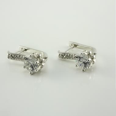 Срібні сережки (4634)