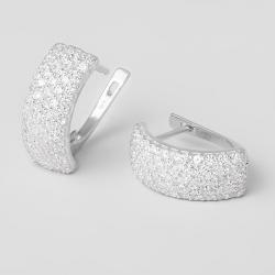 Серьги серебряные (4637)