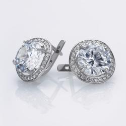 Сережки (4665) зі срібла