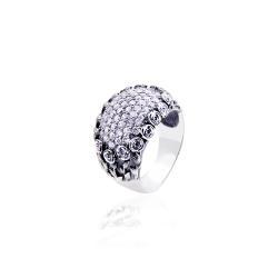 """Серебряное кольцо """"Букет роз"""" (3827)"""