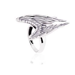 """Серебряное кольцо """"Крылья"""" (3836)"""