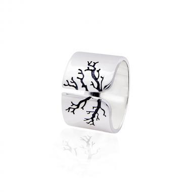 """Серебряное кольцо """"Дерево"""" (3850)"""