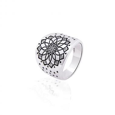 """Серебряное кольцо """"Солнце"""" (3852)"""