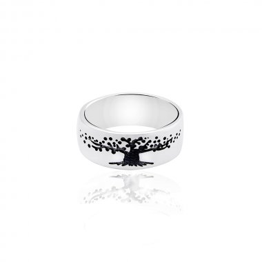 """Серебряное кольцо """"Дерево жизни"""" (3856)"""
