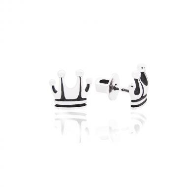 Серебряные серьги-гвоздики (4799)