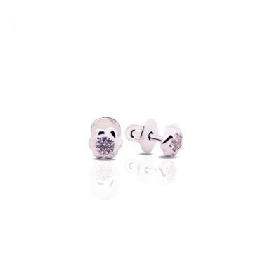 Срібні сережки-гвоздики (4829)