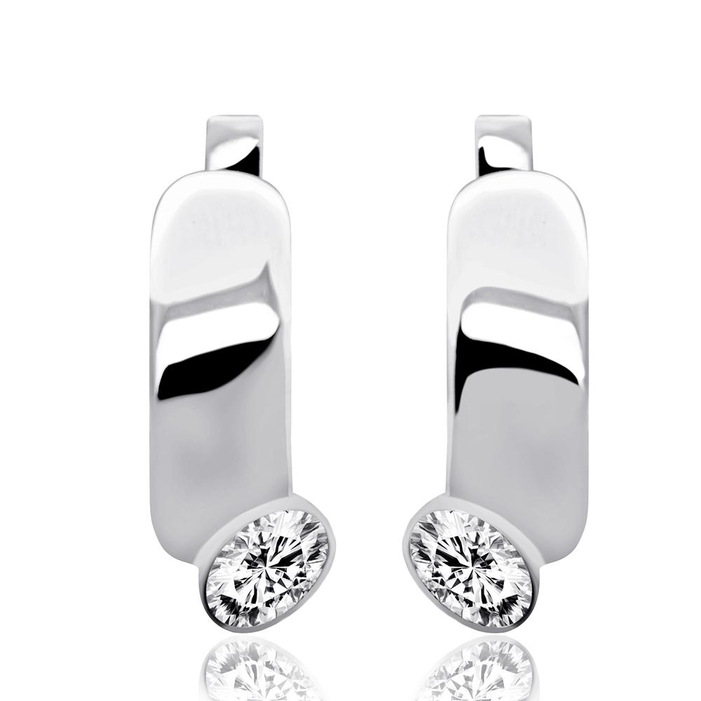 Срібні сережки (4847) – ціна 618 span class