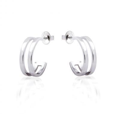 Срібні сережки-гвоздики  (4885)