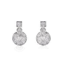 Срібні сережки-гвоздики (4887)