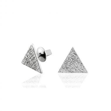 Срібні сережки-гвоздики  (4888)