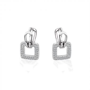 Серебряные серьги (4892)