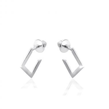 Серебряные серьги-гвоздики (4901)