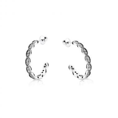 Срібні сережки-гвоздики (4914)