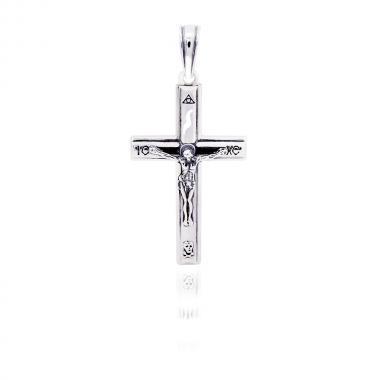 Срібний хрест 5209