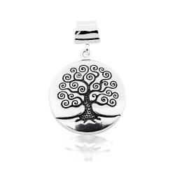 Срібний кулон Дерево життя (7163)