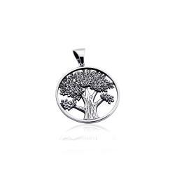 """Срібний кулон """"Дерево"""" (7234)"""