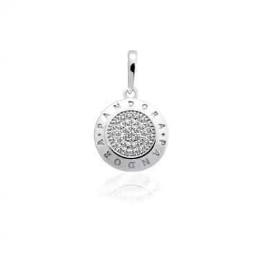 Срібний кулон в стилі PANDORA (7245)