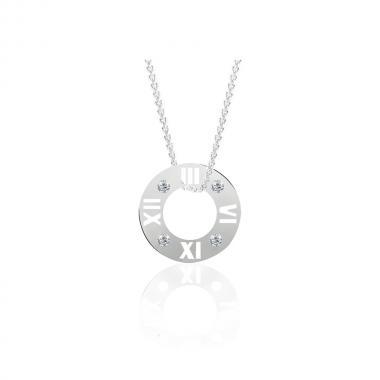 Срібне кольє (1078)