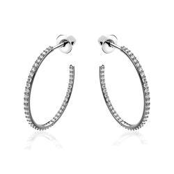Серебряные серьги-гвоздики (4937)