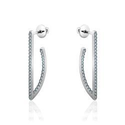 Срібні сережки-гвоздики (4938)