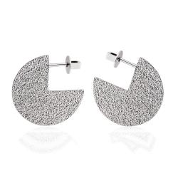 Серебряные серьги-гвоздики (4949)
