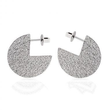 Срібні сережки-гвоздики (4949)