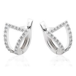 Срібні сережки (4966)