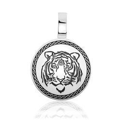 "Срібний кулон ""Тигр"" (7269)"