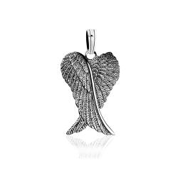 """Серебряный кулон """"Крылья ангела"""" (7287)"""