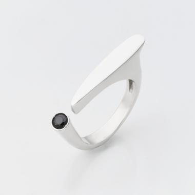 Срібна безрозмірна каблучка (3804)