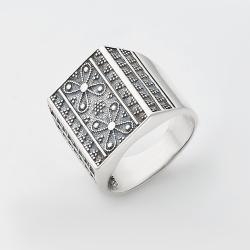 Серебряное кольцо (3809)