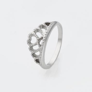 """Серебряное кольцо """"Корона"""" в стиле PANDORA (3810)"""
