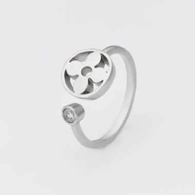 Срібна каблучка на фалангу (3817)