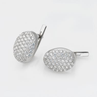 Серебряные серьги (4758)