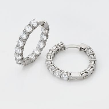 Серебряные серьги (4762)