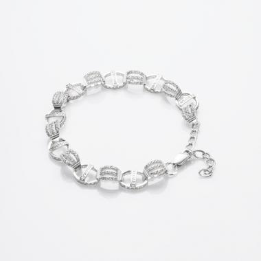 Срібний браслет BVLGARI (2047)