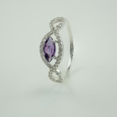 Серебряное кольцо (3674ам)