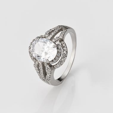 Срібна каблучка (3706)