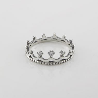 "Срібна каблучка"" Корона"" (3732)"