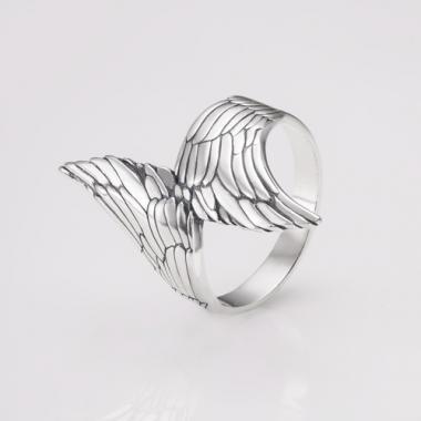 "Срібна каблучка ""Крила Ангела"" (3757)"