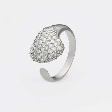 Срібна безрозмірна каблучка (3774)