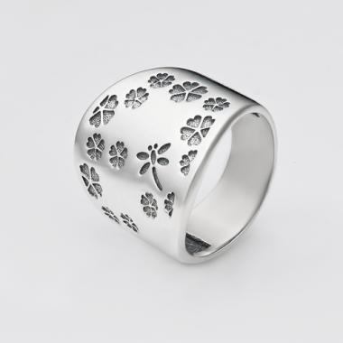 Срібна каблучка (3778)