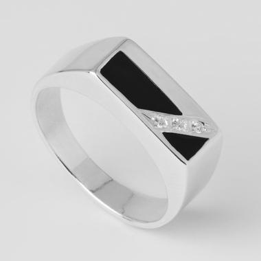Серебряное кольцо (4104)