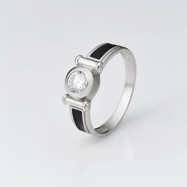 Срібна каблучка  (Печатка) (4112)