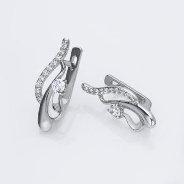 Срібні сережки(4411)