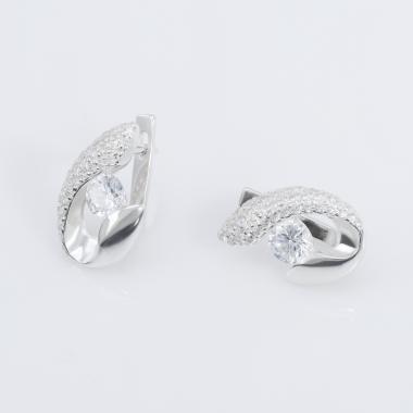 Срібні сережки(4412)